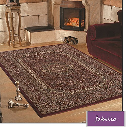 Fabelia Orientalischer Teppich Granada - Klassischer Teppich mit orientalisch-europäischen Designs (160 x 230 cm)