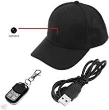 GFFG Video Camera Hat Cap Recording HD Video Photo and Audio - Fun for Outdoor Sports Shooting Hiking Fishing Teaching Demo Play with Kids & Pets