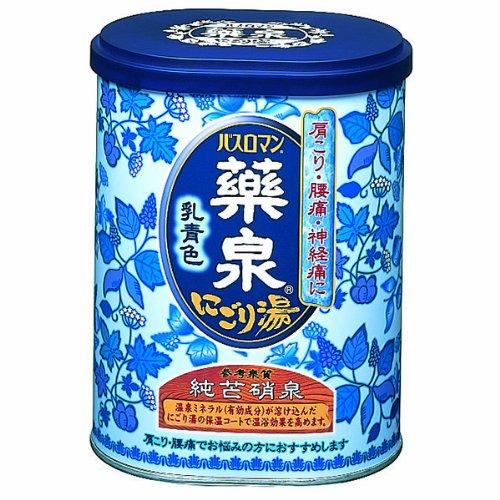 Yakusen Bath Roman Muddy Blue Japanese Bath Salts - 650g (japan import)