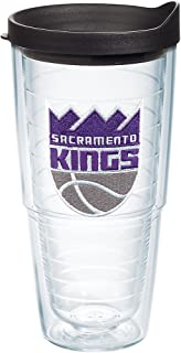 Tervis NBA Sacramento Kings Primary Logo Tumbler with Emblem and Black Lid 24oz, Clear