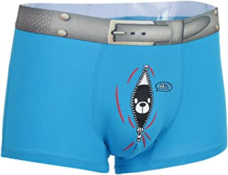34c9a19997 Fenteer Slip Drôle Confortable Respirant Drôle Briefs Tanga Brief Caleçon  Underpants Hommes M-XL