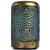 SALKING Humidificador Aceites Esenciales, 100ml Difusor Ultrasonico de Aceite Esenciales,Difusor Aromaterapia con LED de 7 Colores y 4 Temporizadores,para el Hogar,Regalos Originales para Mujer