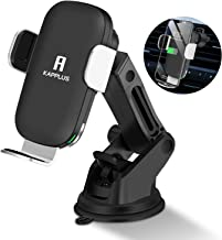 Wireless Car Charger 10W Qi Fast Wireless Charger Phone Holder for Dash Windshield Kapplus Auto Clamping Car Mount,for iPhone 11/11 Pro Max/Xs MAX/XS/X/XR,Samsung Note Galaxy S10/S10/S10+/S9