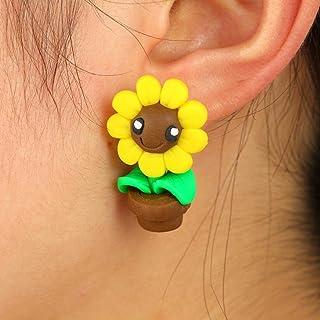 2019 Sunflower Cute Earrings