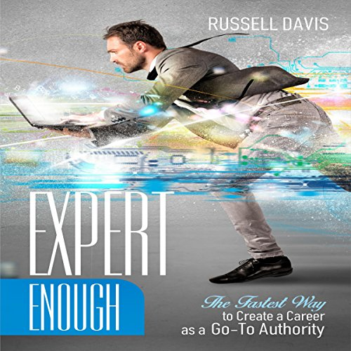 Expert Enough audiobook cover art