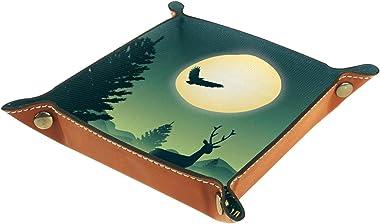 Night Secene Wildlife-01 Travel Valet Tray for Remote Controller