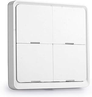 Tuya ZigBee Wireless Smarts Scene Switch 4 Gang Scenario Switch 4 Road Slab Scene Keys Switch Tuya Smarts Home Assistant S...