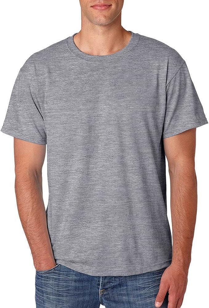 Tall 5.6 oz. 50/50 Heavyweight Blend T-Shirt (29MT) Oxford, 3XLT