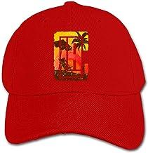 Xtb221 California Palm Tree Play Basketball Childrens Kids Baseball Cap Boys Girls Childrens Hats