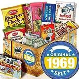 Original seit 1969 -- Schokolade DDR Ostbox -- Geschenkset Geburtstag -
