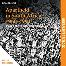Apartheid in South Africa 1960-1994 Digital (Card): Stage 6 Modern History (Cambridge Senior History)