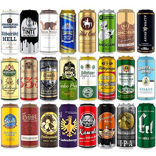 Kalea Bier-Spezialitäten in der Dose | exklusive Sonderabfüllungen | Geschenk-Idee Papa | Geburtstag | Männertag | Dosenbiere von Privatbrauereien (Bierbox 24x0,5l)