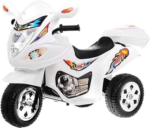 artículos novedosos Moto Electrico para Niños Motocicleta Alimentado con Batería Vehículo Vehículo Vehículo Eléctrico - Motocicleta BJX-088 - blanco  suministro de productos de calidad