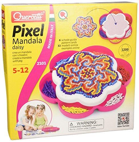 Quercetti 2101Ã'Â steckspiel pixels Mandala Daisy 1200 b