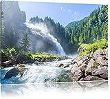 Pixxprint Wasserfälle Nationalpark Salzburg als