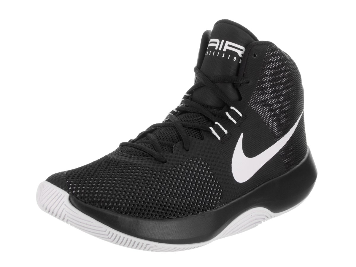 White/Cool Grey Basketball Shoe
