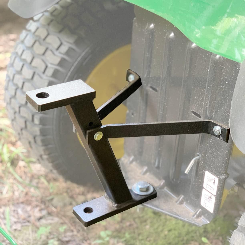 Fivepine Lawn Mower Trailer Hitch Riding Mower Garden Tractor Hitch fit for John Deere/Cub Cadet/Husqvarna/Craftsman -Raise 11 inches