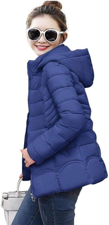 Ladies Fashion Coat Winter Jacket Women Outerwear Warm Wadded Jacket Padded Parka