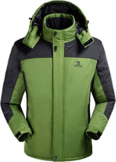 Lottaway Hooded Fur Fleece Quilted Winter Outdoor Climbing Ski-wear Wind Jacket