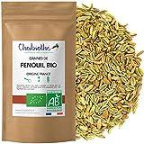 Chabiothé - Fenouil Bio Graines 200g - Origine FRANCE -...