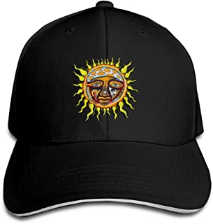 Unisex Adjustable Sandwich Hats Solid Colors Baseball Cap Snapback Hat for The Story of Sublimes Iconic Sun Logo