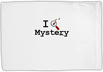 TooLoud I Love Mystery Standard Size Polyester Pillow Case