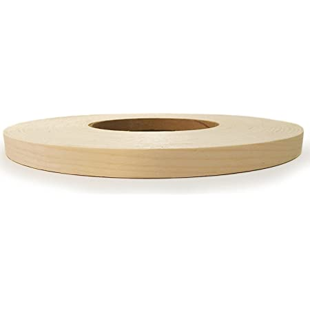 Clear UV Laquer Finish Made in USA. Birch Pre finished Preglued 3//4 X 10 Wood Veneer Edgebanding
