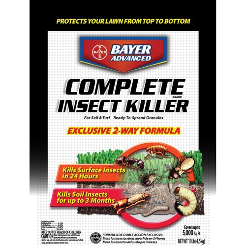 Bayer Advanced Complete Insect Killer for Soil & Turf Multiple Insects Granules Imidacloprid 10 Lb.