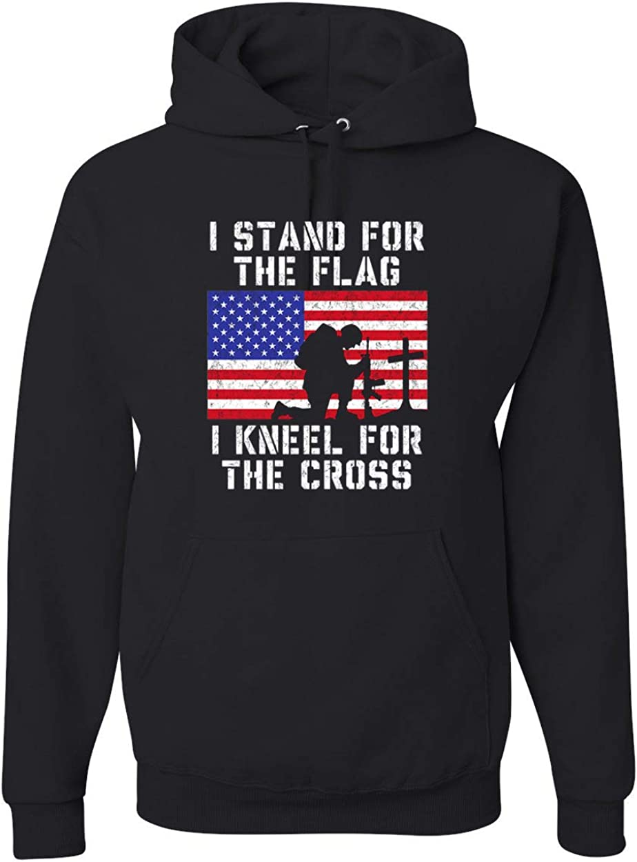I Stand for Fort Worth Mall The Flag Kneel and Unise Cross Trucks Max 78% OFF Cars