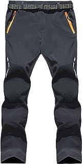 LHHMZ Hombres Secado rápido Pantalones de Senderismo Impermeable A Prueba de Viento Respirable Al Aire Libre