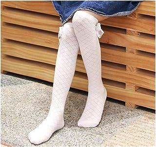 Beige Meliert 55 One size Beige Lusana Girls Kinder-Kniestrumpf aus beigemelierter Baumwolle Knee-High Socks