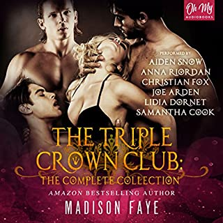 The Triple Crown Club audiobook cover art