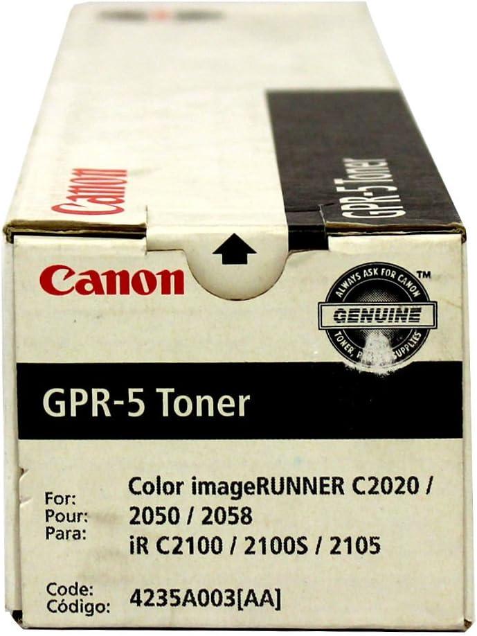 Canon 4235A003AA Digital color copier toner gpr-5 for irc2050, black