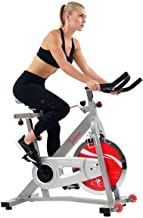Sunny Health & Fitness Indoor Cycle Exercise Bike SF-B901B with Belt Drive