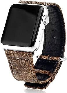 APPLE Watch Pulsera de piel 38mm 42mm Reloj de pulsera pulsera de piel para Apple Watch Series 1Series 2Series 3Leopard