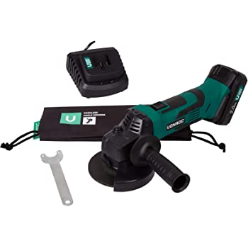 7500 RPM, Negro, Verde, Bater/ía, I/ón de litio, 18 V, 2,2 cm Amoladora angular + Ryobi UTB2 Ryobi R180AG-0 Bolsa de herramientas Ryobi