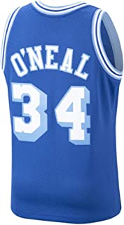 Mitchell and Ness O`Neal Royal #34 Lakers Swingman Jersey (18013-LALROY96SON)