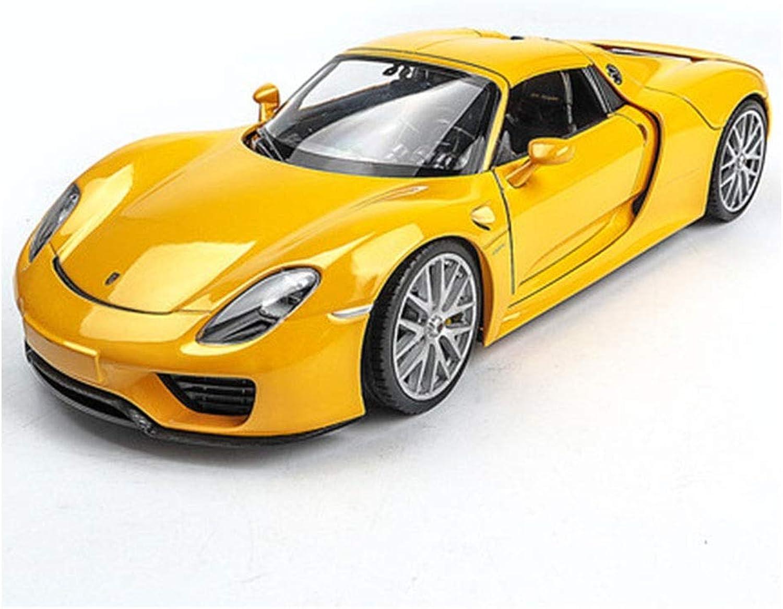 edición limitada en caliente JTWJ Modelo de Coche, Modelo Modelo Modelo de simulación de aleación de Coche 1 24 Modelo Deportivo, Modelo de vehículo Todo Terreno, tamaño  19X9X5.5 CM (Amarillo)  ordene ahora los precios más bajos