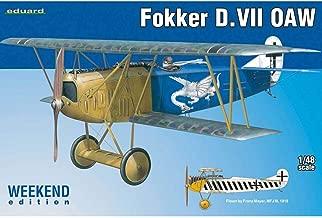 1:48 Eduard Kits Weekend Fokker D Vii Oaw Model Kit