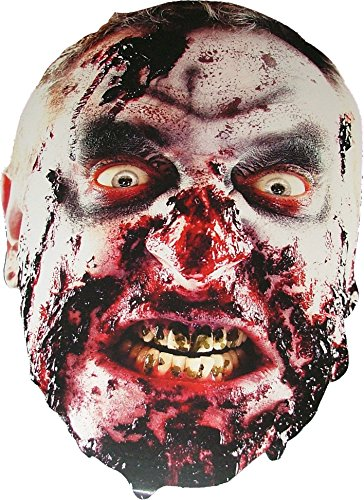 Halloween Zombie - Scary Card Face Mask [Toy]