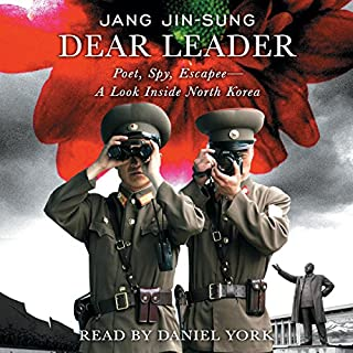 Dear Leader audiobook cover art