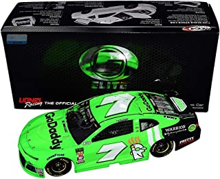 AUTOGRAPHED 2018 Danica Patrick #7 GoDaddy Racing DANICA DOUBLE DAYTONA 500 (Final Race) RCCA ELITE Rare Signed Lionel 1/24 NASCAR Collectible Diecast Car with COA (#196 of only 485 produced!)