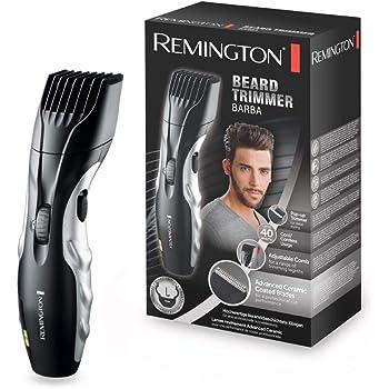 Remington Barttrimmer Herren Set MB320C (keramikbeschichtete Klingen, 9 Längeneinstellungen, Netz-/Akkubetrieb, LED Lade-/Nachladekontrollanzeigen) Bartschneider, Langhaarschneider