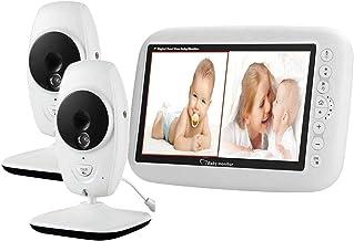 2 Cameras Video Baby Monitor, EMEBAY - Wireless Camera 7.0