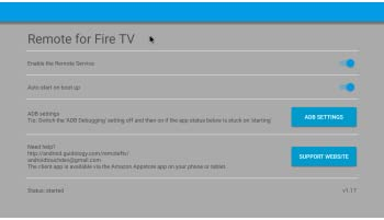 Remote for Fire TV