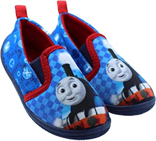 Thomas The Train Blue and Red Toddler Daycare Slippers