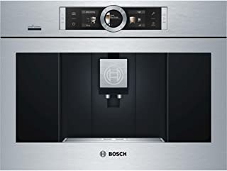 "Bosch BCM8450UC BCM8450UC 24"" UL Listed Built-In Coffee Machine with 12 Modes: Stainless Steel"