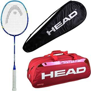HEAD Head Xenon 3.0 Badminton Racquet Set with Inferno 70 red kitbag