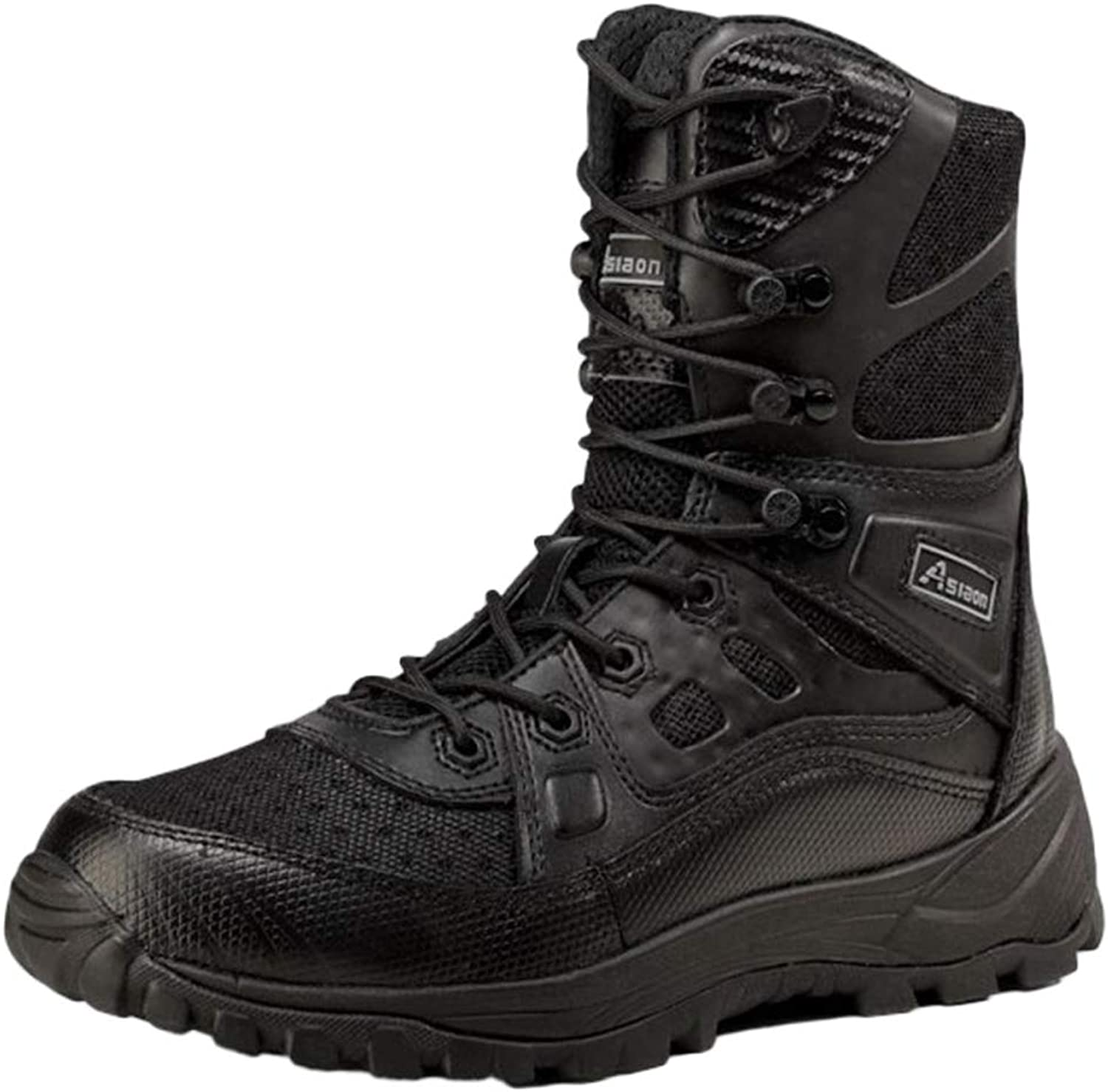 Men Boots Outdoor Martin Tactical Boots Desert High Help Lace-up shoes Work Boots Snow Boots Breathable Lightweight
