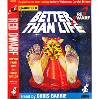 Red Dwarf: Better Than Life cover art
